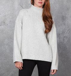 Duffy Twist Turtleneck Sweater