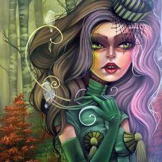Lydia peculiar- print