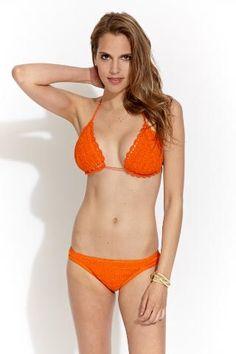 Anna Kosturova crochet bikini