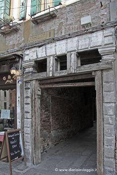 Porta ghetto ebraico di Venezia
