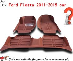 Car Carpet Anti Slip Floor Mats for Ford Fiesta 2011 2015 Automobile Floor Mat Cover Black Grey Brown Beige Choices,High Quality carpet car mat,China mat beach Suppliers, Cheap mat basketball from AUTO PARTS HOME on Aliexpress.com