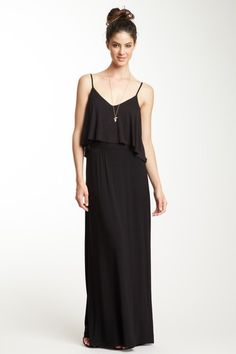 God i wish i was tall enough to pull off wearing these dresses. Tiered Maxi Dress