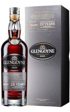 Glengoyne Highland Single Malt Scotch Whisky 25YO