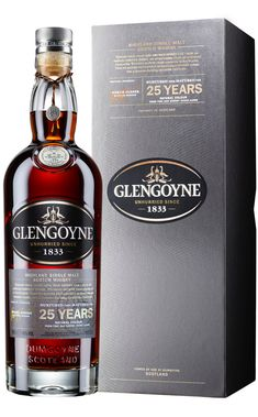 Glengoyne Highland Single Malt Scotch Whisky 25YO