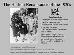 The Harlem Renaissance Duke Ellington, Harlem Renaissance, Jazz Age, 1920s, Finding Yourself, Culture, Black, Black People
