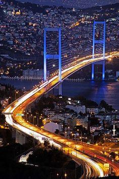 Bosphorus Bridge - bosphorus bridge, Istanbul , Turkey