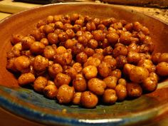 Try out this Honey-Roasted Cinnamon Chickpeas #recipe with your kids! #enabledkids