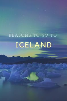 Not like you need any more reasons to come to this magical place but here is my list of awesome reasons to put Iceland on your list of places to go. Northern lights, glaciers, volcanoes, waterfalls and adventure activities...the landscape will blow your mind!