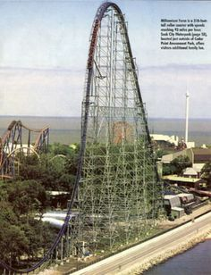 Cedar point, thrill coaster