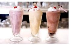 1950's milkshakes