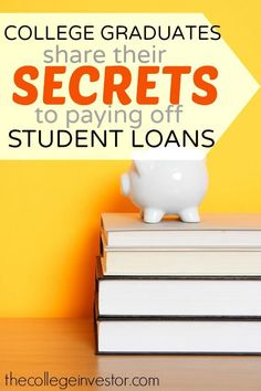 Is there any way to pay student loans after i graduate from college?