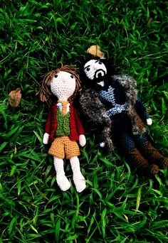There's been some new additions to Thorin's company, and by some, I mean lots! Meet Gloin and Oin... ...