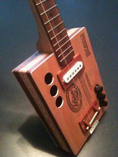 Custom Made Cigar Box Guitar, Padron 9