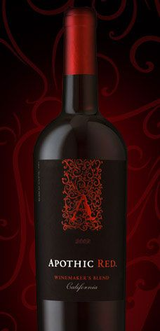 Apothic Red Winemakers Blend (*I found I didn't like this as much as Menage a Tois red blend.  )