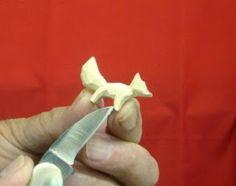 Beginners Carving Corner and Beyond: Whittling Fox Earrings