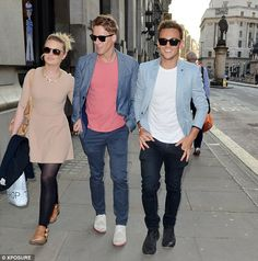 Party time! Tom Daley and Dustin Lance Black step out for a night at the Forge bar in cent...
