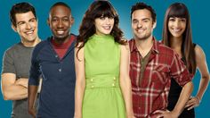 New Girl. Just watched the first episode. Average comedy but Zooey D. is such a cutie