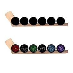 Hockey puck display that holds 6 hockey pucks. Puck display racks can be hung on the wall or sit on a shelf. Show off your hockey puck collection with this puck display rack. We also make custom hockey puck displays, and sell puck case display boxes. Boys Hockey Room, Hockey Bedroom, Hockey Puck, Hockey Mom, Youth Hockey, Usa Hockey, Hockey Stuff, Hockey Crafts, Hockey Decor