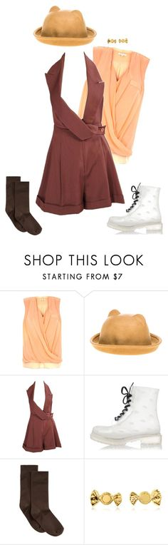 """bebe"" by dryingink ❤ liked on Polyvore featuring River Island, Hollywood Mirror, John Galliano, Hue and Marc by Marc Jacobs"