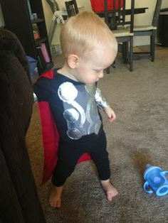 Baby Thor Halloween Costume. Perfect for Infants and Toddlers.