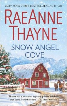 Snow Angel Cove by RaeAnne Thayne.  Click the cover image to check out or request the romance kindle.