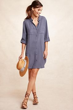 Love this. Utility Shirtdress - anthropologie.com …