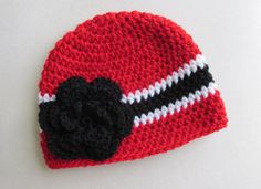 Georgia Bulldogs Hat for Baby Toddler Child by LittleBeaBoutique