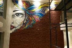 A Street Art veio com intuito de quebrar as barreiras da arte, onde a criatividade não tem limites.