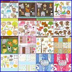 Coleção Scrapbook Digital Safari Zoo 104 Kits -frete Gratis - R$ 5,90 em Mercado Livre