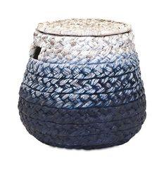 IMAX Cascade Woven Water Hyacinth Basket