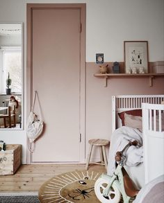 Trendy Home Ideas For Kids Room Ideas Baby Bedroom, Bedroom Wall, Girls Bedroom, Bedroom Decor, Bedroom Lighting, Design Bedroom, Kids Room Design, Trendy Home, Trendy Baby