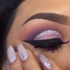 SLAAAY⚜️ #makeup #makeupgoals #slay #goodlookimg #girl #nars #nails #eyeshadow #eyelashes #eyebrows #purple #art