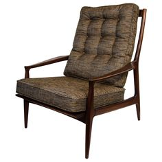 Mid-Century Modernist Easy Chair in the Manner of Rolf Rastad and Adolf Relling