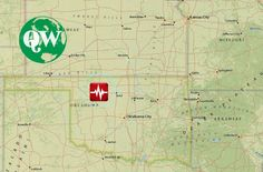Earthquake Magnitude 5.133km (21mi) NW of Fairview, Oklahoma USA - Zone and interactive map