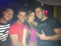 Jacobo Ostos, Mario de Gh y Ismael disfrutando en @LaPosadaAnimas que mejor compañía? Vosotros, gracias