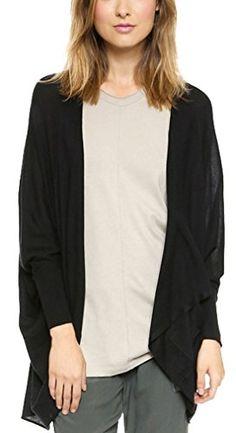 Oure Women Black Draped Batwing Knit Sweater Cardigan Top (2XL) Oure http://www.amazon.com/dp/B00Q9PEQP0/ref=cm_sw_r_pi_dp_4B.Yvb1GYNBT2