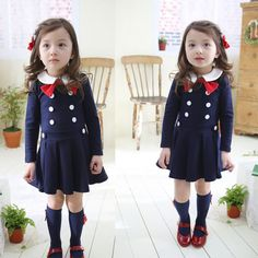 Check current price Spring and Autumn baby girl dress girls clothes school dress for girls princess casual long sleeve dress for girls kids clothes just only $13.63 - 14.54 with free shipping worldwide  #girlsclothing Plese click on picture to see our special price for you