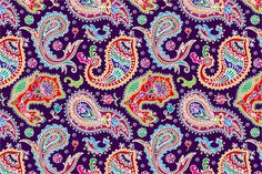 3 Paisley seamless patterns by Sunny_Lion on Creative Market