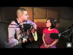Alexa Narvaez and Jorge - The Scientist by Coldplay Acoustic Cover