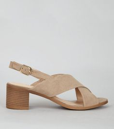 New LookMink Suedette Cross Strap Block Heels 5169792 New Look Uk, Shoe Gallery, Saved Items, Mink, Teen Fashion, Block Heels, Open Toe, Heeled Mules, Latest Trends