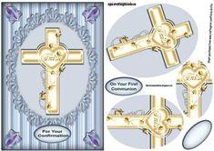 Confirmation Faith Cross Male PYRAMID on Craftsuprint - Add To Basket!