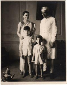 Indira Gandhi, Jawaharlal Nehru, Rajiv Gandhi and Sanjay Gandhi - Indira Gandhi - Wikipedia, the free encyclopedia Indira Gandhi, Rare Pictures, Historical Pictures, Rare Photos, Jaisalmer, Udaipur, Jawaharlal Nehru, Rajiv Gandhi, History Of India