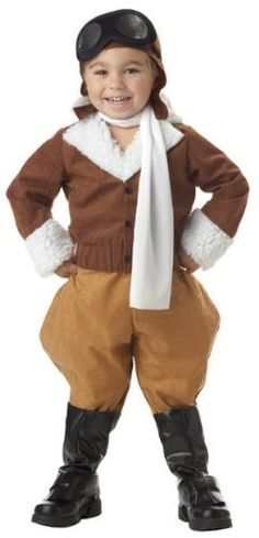 Amelia Earhart Toddler Costume << for when I have a girl. Mighty Girl is an awesome website for raising strong, smart, and independent girls in (despite) today's society. Cute Costumes For Kids, Baby Costumes, Costumes For Women, Unique Toddler Costumes, Feminist Halloween Costumes, Great Halloween Costumes, Halloween History, Halloween 2016, Costume Ideas