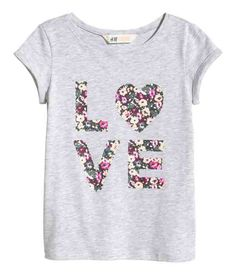 Kids   Girls Size 8-14y+   Tops & T-shirts   H&M US