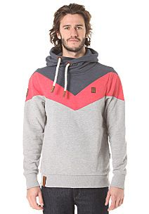 naketano Kifferboarder II - Hooded Sweatshirt for Men - Grey