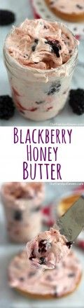 This Blackberry Honey Butter will make for a perfect spread for your bagels, toast, waffles or breads.