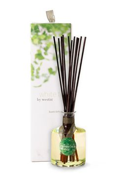 Westin White Tea Room Diffuser - clean, inviting and relaxing. If the folks of Westin would put this scent in linen water....