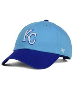 '47 Brand Kansas City Royals Core Clean Up Cap - Blue Adjustable