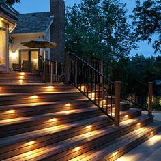 Baroque Koncept Lighting look Omaha Traditional Deck Decorators with deck lighting outdoor lighting safety lighting step lighting