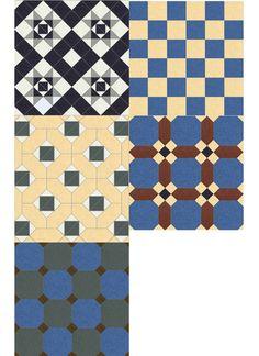Dollhouse tiles